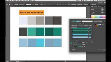 find a pantone color how to find pantone in illustrator cs6