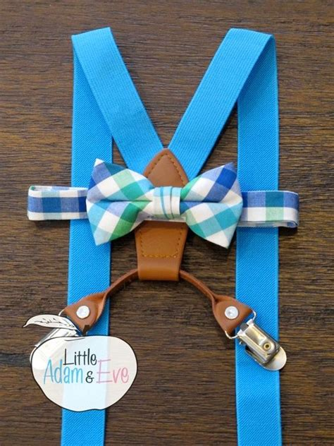 light up bow tie and suspenders blue suspenders boy suspenders light blue supenders