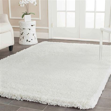 Fuzzy White Area Rug Mainstays Manchester Shag Area Rug Or Runner Walmart