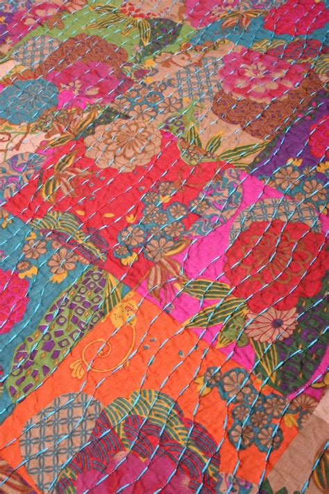 Safia Batik boho quilt boho cotton quilt set safia