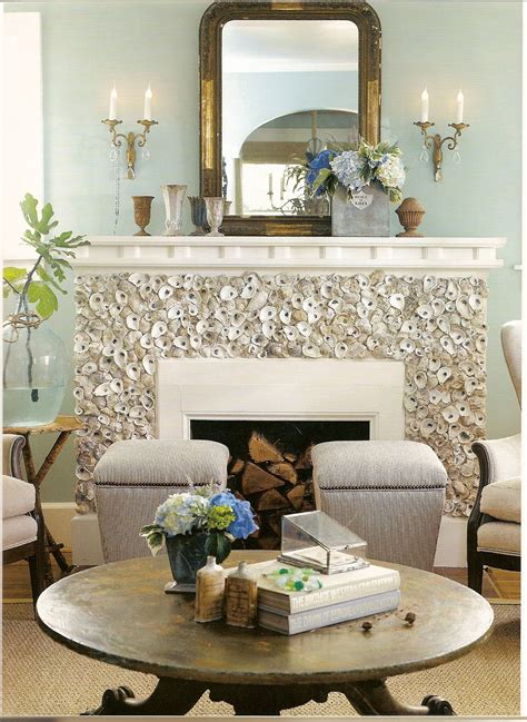 shell home decor a flair for vintage decor oyster shells and decor