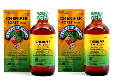 Vitamin Height Up 2 cherifer forte syrup with taurine chlorella growth import it all