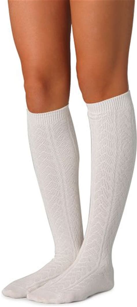 cable knit knee high socks falke striggings cable knit knee high socks grey in