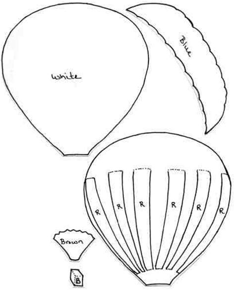 pattern for paper hot air balloon 17 best images about hot air balloon on pinterest