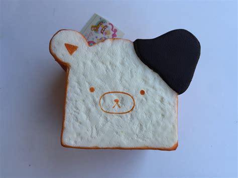 Squishy Pepaya Premium jumbo rilakkuma bread loaf squishy