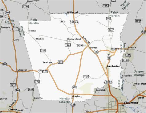 hardin county texas map texasfreeway gt statewide