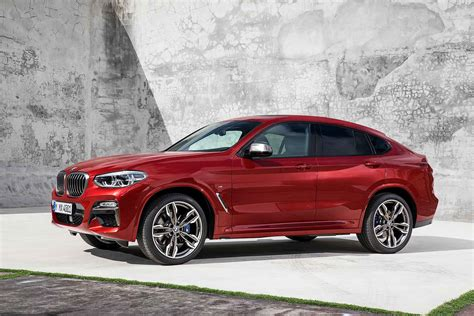 New Bmw X4 2018 new 2018 bmw x4 revealed and ordering opens tomorrow