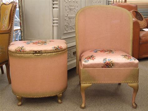 bedroom chair and ottoman sets f403 s charming vintage pink bedroom chair and ottoman