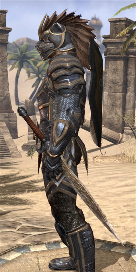 eso fashion sir rhorlak  baskpeak na elder scrolls