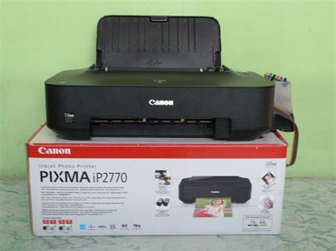 Printer Canon Ip2770 Dengan Infus cara instal printer canon pixma ip2770 lengkap dengan gambar laporan kecil dari pelajar