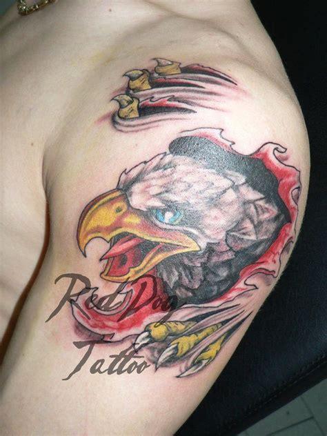 tattoo 3d eagle 33 best 3d eagle tattoos images on pinterest tattoo