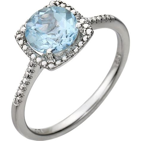 Topaz Gift Card Balance - sterling silver ring in sky blue topaz