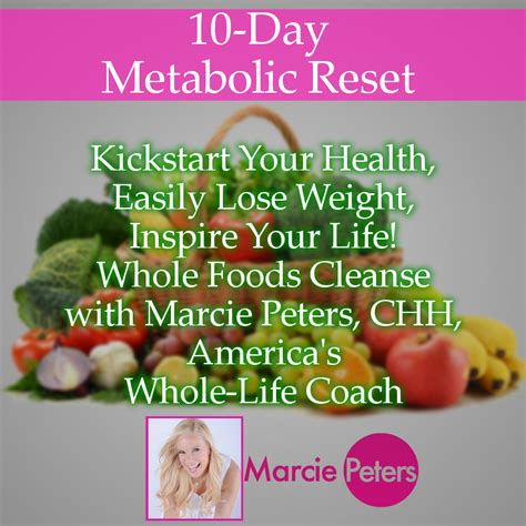 Reset Detox Diet by Metabolic Reset Inspiration Cleanse 10 Day Mind