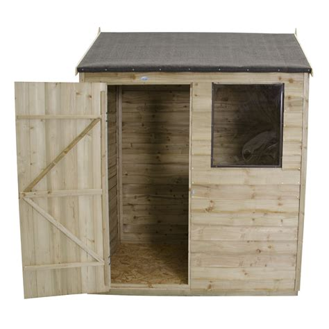 4 X 6 Storage Shed by Forest Garden 6 X 4 Wooden Storage Shed Wayfair Uk