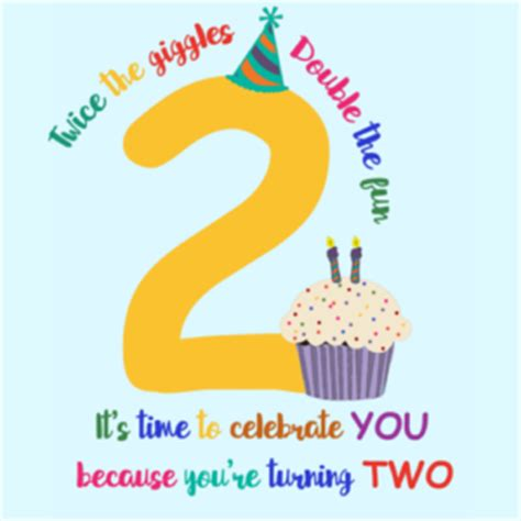 Happy Birthday 2 Year Quotes Happy 2nd Birthday Second Birthday Wishes Quotes And Messages