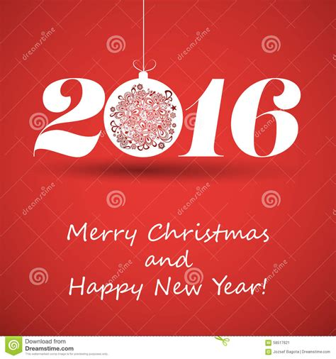merry and happy new year card template merry and happy new year greeting card creative