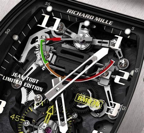garagemahals richard mille rm  tourbillon  sensor