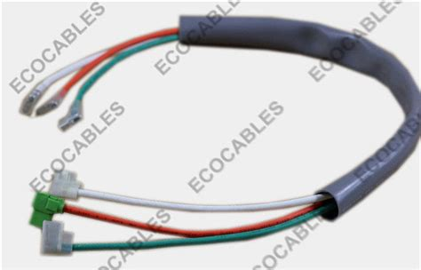 pvc electrical wiring harness for air conditioner