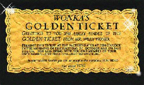 free printable golden ticket template