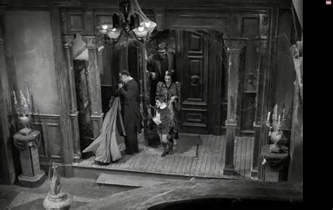 munsters living room inside the munster house screen of all interiors and every room front hallway and