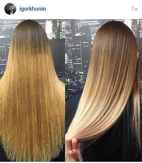roots light ends technique the difference between balayage ombr 233 sombr 233 the whole