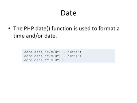 php date format lc3 php file upload cookies session