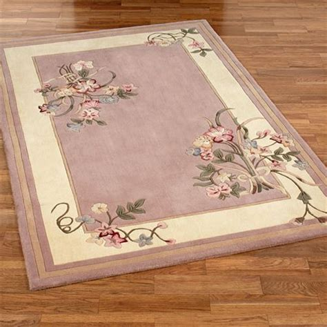 pink floral area rug floral bouquet dusty mauve area rugs