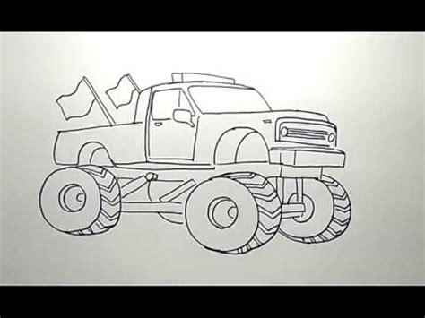 menggambar mobil besar   draw big car youtube