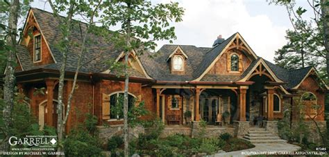 etowah river lodge house plan craftsman house plans