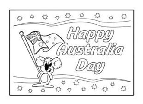 free printable greeting cards australia free printable australia day colouring google search