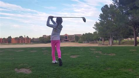 best golf swing in the world hannah pearson best pee wee golf swing in the world