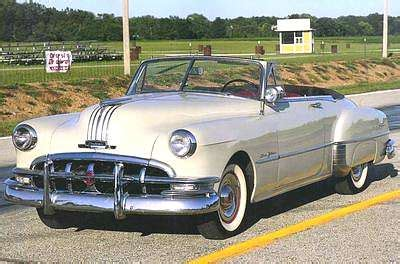 1950s Pontiac by A Picture Review Of The Pontiac From 1950 To 1959