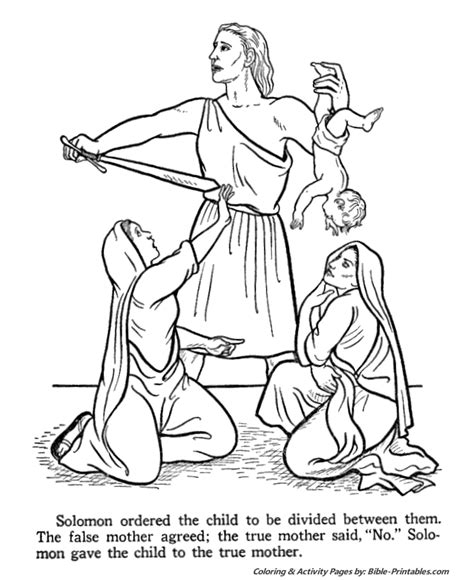 king solomon coloring pages activities home can quot bee quot a heaven on earth fhe be thou wise a