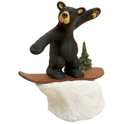 bearfoots for sale bearfoots bear snowboarder figurine