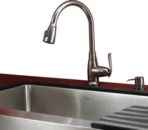 bronze kitchen sinks 30 in farmhouse kitchen sink rubbed bronze faucet