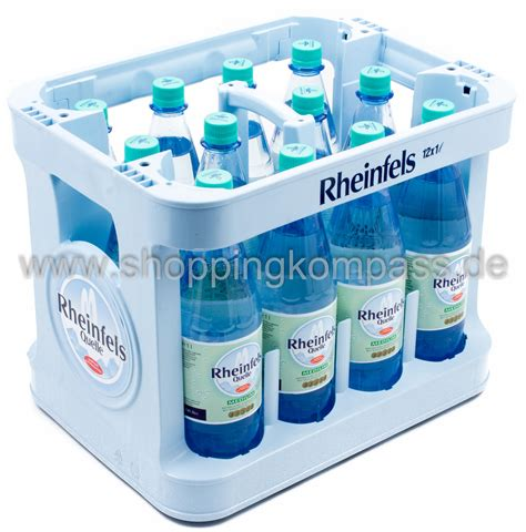 1 kasten wasser mineralwasser rheinfels quelle mineralwasser medium