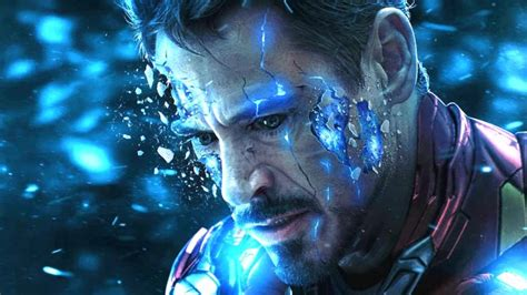 iron man return endgame death