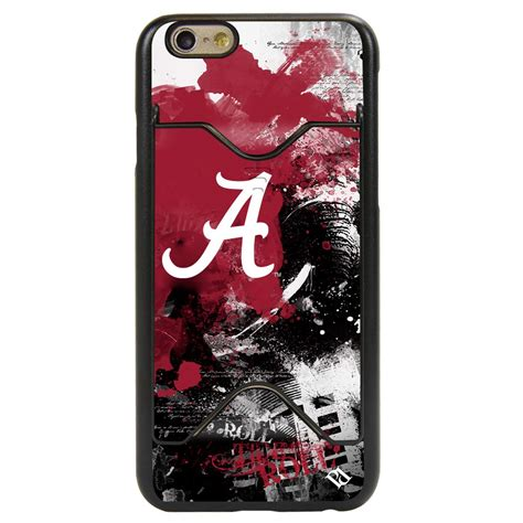 Casing Iphone 6s Alabama Crimson Tide Custom alabama crimson tide pd spirit credit card for iphone 6 6s mobilemars