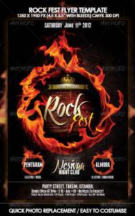 Rock Flyer Template by Rock Flyer Template Graphicriver
