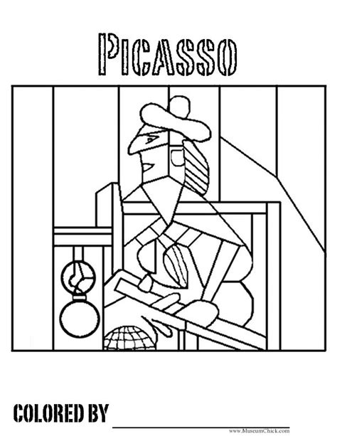 artistic coloring pages 17 best images about color on coloring pablo picasso and vincent gogh