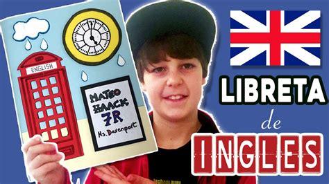 decora tu libreta de apuntes de ingl 201 s regreso a clases - Decorar In Ingles