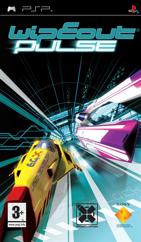 Psp Umd Wipeout wipeout pulse wipeout central