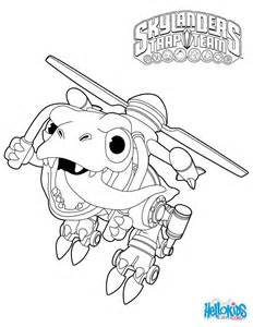 skylanders trap team coloring pages chopper coloring pages hellokids