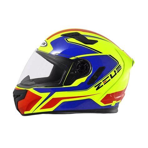 Helm Zeus 813 Jual Zeus Zs 813 Helm Zyel 809 An6 Blue