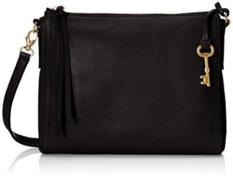 fossil e w crossbody leather handbags