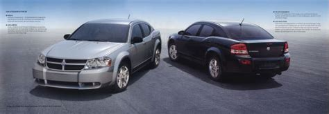 2008 dodge avenger brochure