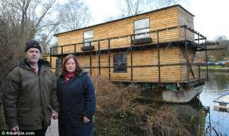 Building Plans For Cabins planners to sink couple s ark after they build 2 storey