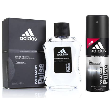 adidas deodorants for men combo pack of 4 assorted buy adidas dynamic pulse perfume and deodorant combo for