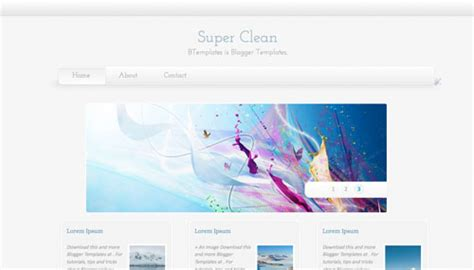 templates blogger clean super clean blogger template btemplates