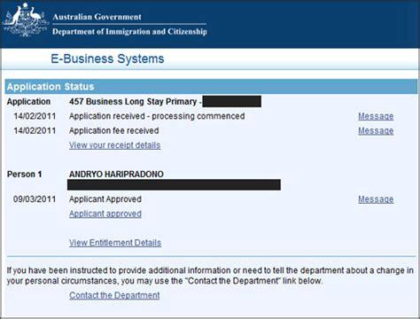 visa kerja australia proses visa kerja sponsor 457